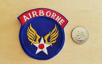 WWII WW2  Airborne Patch PARATROOPER AIR TRAINING COMMAND WWII 2 Estate FIND