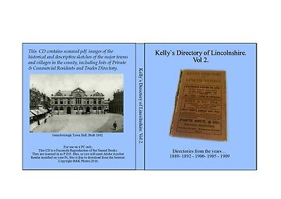 Gainsborough.Lincolnshire. Kelly Directories of Lincolnshire. Vol – 2.