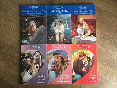 Job Lot Of 6 Mills And Boon Books Romance