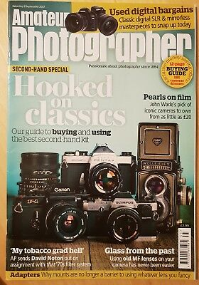 Amateur Photographer Magazine 2nd September 2017 Second Hand Special