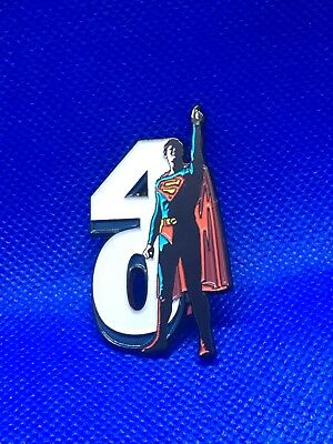 Superman The Movie 40th Anniversary Enamel Pin
