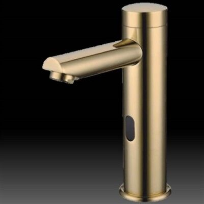 Solo Gold Tone Polished Motion Detection Touch-less Sensor Faucet