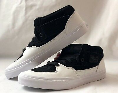 b806775666e5 VANS HALF CAB Dipped Black True White Skate Men s 8