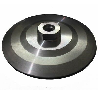 100mm SOLID Aluminium Backing Pad - Professional Quality, M14