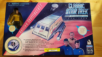 Star Trek Playmates Galileo Shuttle Kirk OVP Classic 1996 Neu