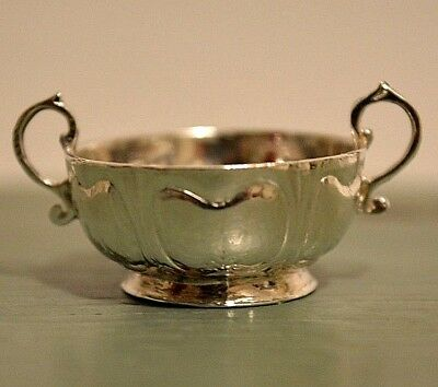Miniature Sterling Silver Bowl Dollhouse 1:12 MMA Sterling