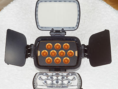 Sony HVL-LBPA LED Battery-Powered High-Performance Video Camera Light Tested LBP