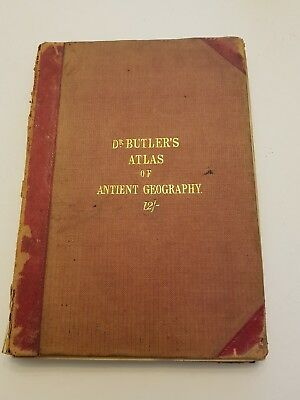 Samuel Butler: An Atlas Of Antient Geography, New Edition, 1866