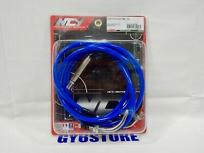 "NCY THROTTLE CABLE (76""); GY6 150cc & QMB139 50cc"