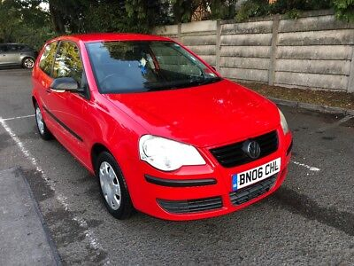 Volkswagen Polo 1.2 2006 Red