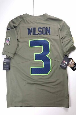 finest selection 35e7f 860b3 NIKE RUSSELL WILSON Seattle Seahawks Youth Salute To Service ...