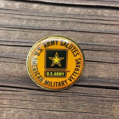 United States Army, U.S. Army Salutes American Military Veterans Lapel Pin