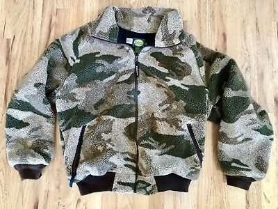 1501e1eb9dfb1 Cabela's Men's Outfitter Camo Fleece Jacket w/ Windstopper Lining Large  Regul