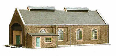 Superquick Card Kit A5 - 2 Track Loco Shed - Excellent Model Oo/ho Model Trains