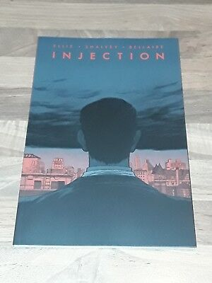 Injection vol 2 Graphic Novel signed by Declan Shalvey.