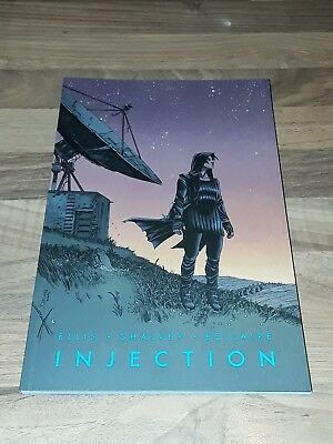 Injection vol 3 Graphic Novel signed by Declan Shalvey.