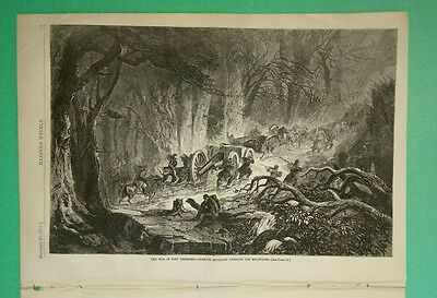Harper's weekly 11/21/1863 2 nice Winslow Homer prints + 3 nice civil war prints