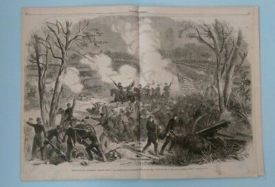 Harper's Weekly 4/26/1862  Civil War  Battle of Shiloh  great views  nice issue!