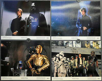 Star Wars Return Of The Jedi 1983 Orig. 11X14 Lobby Card Set Harrison Ford