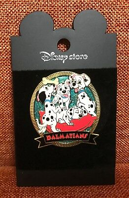 Disney Store Japan One Hundred and One Dalmatians 101 Dalmatians Sparkle Pin