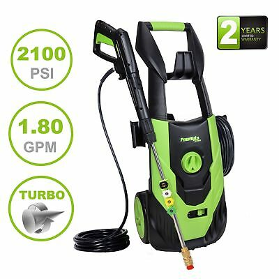 2100PSI 1.8GPM  Electric Pressure Washer with 5pcs Spray Nozzle