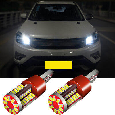 2x Citroen C2 Bright Xenon White Superlux LED Number Plate Upgrade Light Bulbs
