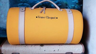 Verve Clicquot champagne bottle carrier