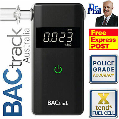 Breathalyser. Alcohol Breath Tester - BACtrack Scout 2018 / XTEND® FUEL CELL