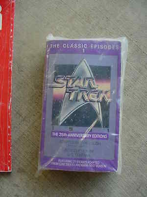 Star Trek Paperback Book - 1991 – 25th Anniversary.  The Classic Episodes Volume