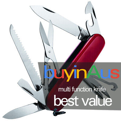 Multi Function Army Knife Tool Swiss Style 107