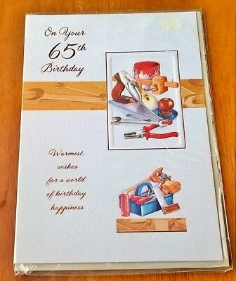 Birthday Card Sixty Five Years Old 65 Today 65th Man