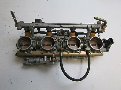 Yamaha FJR1300 FJR 1300 2002 Throttle Bodies and Injectors J25