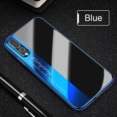 For Huawei P20 Pro Lite Luxury Slim Hybrid Shockproof Case New Silicone Cover