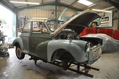 1959 Morris Minor Convertible All Welding Done Ready For Paint Complete 1 Owner