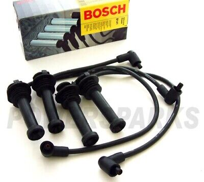 FORD Focus Mk2 Cabriolet 1.6i 07.06-03.07 BOSCH IGNITION SPARK HT LEADS B141