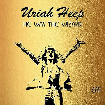 Uriah Heep - He Was The Wizard: 6 Cd Set - Now On Sale!!