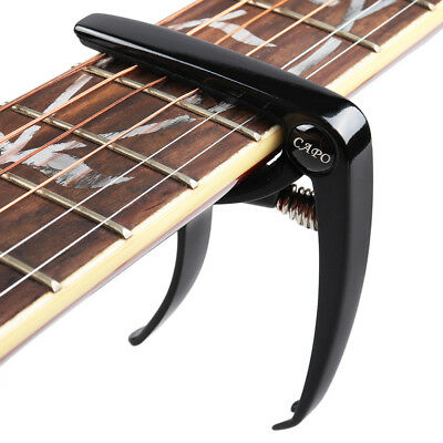 Alloy Guitar Capo Trigger Clamp Quick Change w/ Pin Puller for Acoustic Electric