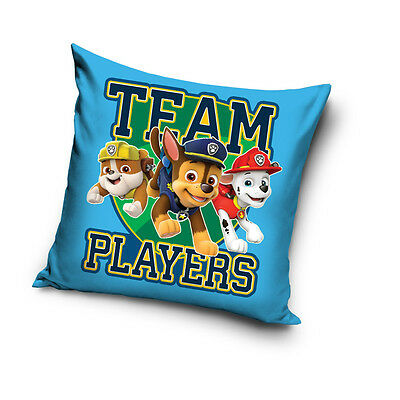 PAW PATROL Chase Rubble Marshall Team Players cushion cover 40x40cm pillow cover