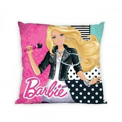 NEW LICENSED BARBIE  cushion cover 40x40cm 100% COTTON 01