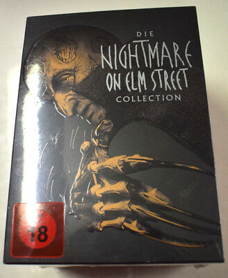 7 DVD´Nightmare on Elm Street 1-7 Limited Uncut Box Collection Edition - NEU OVP
