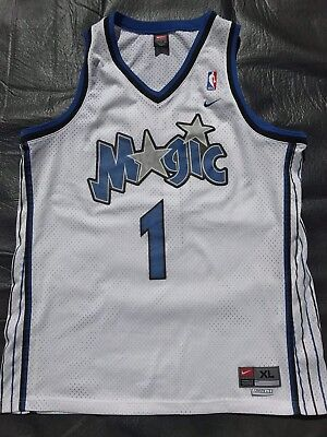 aad5560b788 Vintage 90s NBA Nike Orlando Magic Tracy McGrady  1 Jersey Mens XL Penny  SHAQ FL
