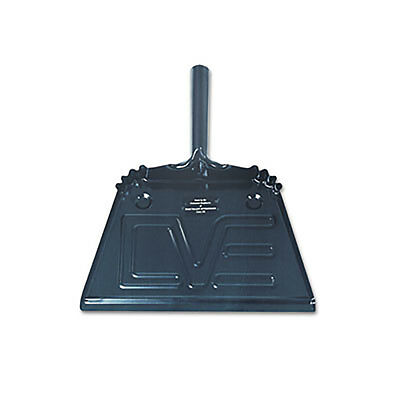 AbilityOne Program Steel Dustpan 12w x 13 1/2l x 4h Black 2248308