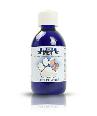 Pet Disinfectant eco CONCENTRATED Cleaner Kennel Fresh Odour Dog 5L BABY POWDER