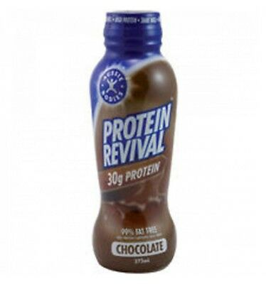 Protein Revival Bottle Choc 375ml x 6
