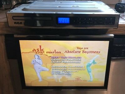 rca 7 kitchen lcd tv dvd combo model sps36073 no remote 67 00