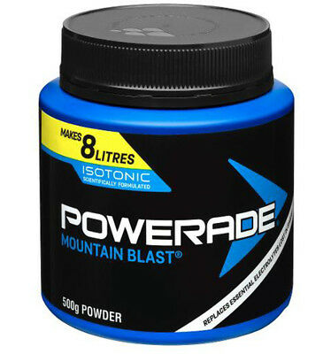 Powerade Isotonic Mountain Blast Powder 500gm