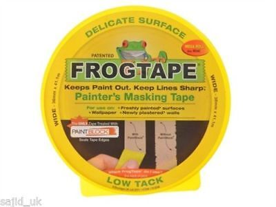 FrogTape Delicate Surface Painters Masking Painting Tape - Yellow - 24mm x 41m