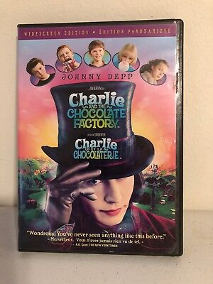 Charlie and the Chocolate Factory DVD (Widescreen Edition) by Roald Dahl. M