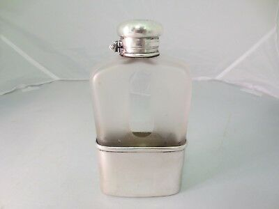 1885 Victorian Tiffany & Co Sterling Silver Ladies Liquor Drinking Flask Bottle