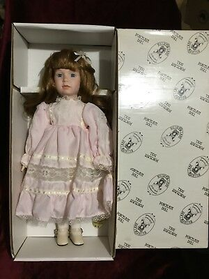 Rare Vintage Hillview Lane Porcelain Doll Limited Edition As New No. HN5840